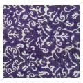 Purple All Over Floral Pattern Needlepoint Canvas