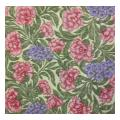 Pink and Purple All Over Floral Pattern Needlepoint Canvas