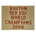 Red Sox 04 Sign Needlepoint Canvas