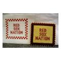 Red Sox Nation Sign Needlepoint Canvas
